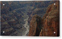 Grand Canyon-aerial Perspective Acrylic Print by Douglas Barnard