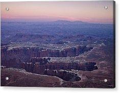 Grand View Point - Utah Acrylic Print by Andrew Soundarajan