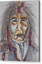 Grandfather  Spirit Acrylic Print by Nashoba Szabol