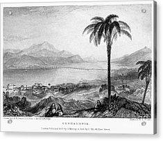 Greece: Kefalonia, 1833 Acrylic Print by Granger