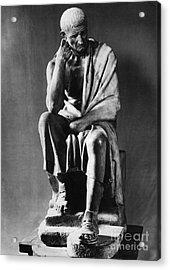 Greek Philosopher Acrylic Print by Photo Researchers