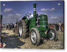 Green Field Marshall Acrylic Print by Rob Hawkins