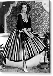 Green Fire, Grace Kelly, 1954 Acrylic Print by Everett
