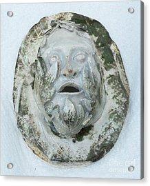 Green Man 3 Acrylic Print by John Keasler