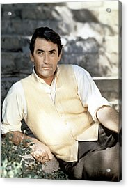 Gregory Peck, Ca. Late 1950s Acrylic Print by Everett