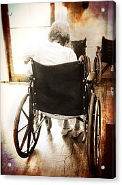 Growing Old Acrylic Print by Robert Smith
