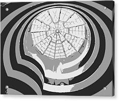Guggenheim Museum Bw3 Acrylic Print by Scott Kelley