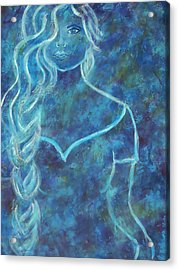 Guinevere Acrylic Print by The Art With A Heart By Charlotte Phillips