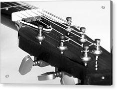 Guitar Acrylic Print by Svetlana Sewell