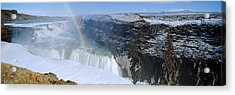 Gullfoss Falls Acrylic Print by Chris Madeley