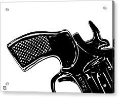 Gun Number 2 Acrylic Print by Giuseppe Cristiano