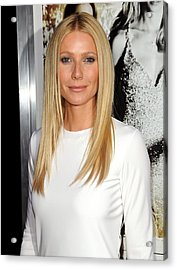 Gwyneth Paltrow At Arrivals For Country Acrylic Print by Everett