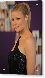 Gwyneth Paltrow At Arrivals For The Acrylic Print by Everett