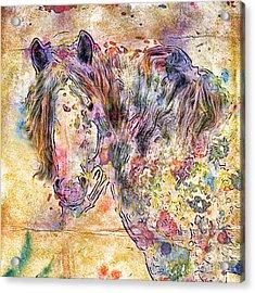 Gypsy Babe Acrylic Print by Marilyn Sholin