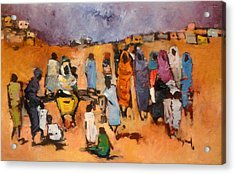 Haboba2 Acrylic Print by Negoud Dahab
