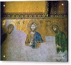 Hagia Sophia: Mosaic Acrylic Print by Granger