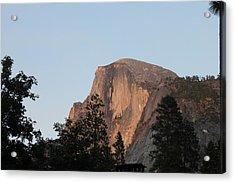 Half Dome Yosemite National Park Acrylic Print by Remegio Onia