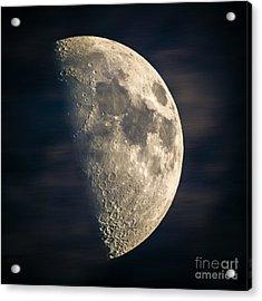 half moon III Acrylic Print by Hannes Cmarits