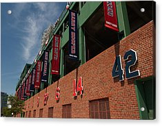 Hall Of Famers Acrylic Print by Paul Mangold