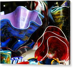 Hand Blown Glass 5 Acrylic Print by Scott Hovind