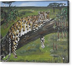 Hangin' Out Acrylic Print by Kim Selig