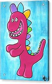Happosaur Acrylic Print by Jera Sky