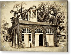 Harpers Ferry Armory Acrylic Print by Bill Cannon