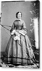 Harriet Lane, Niece Of  James Buchanan Acrylic Print by Everett