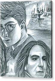 Harry Potter Acrylic Print by Crystal Rosene