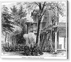 Hartford: Armsear Mansion Acrylic Print by Granger
