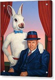 Harvey And Randall Acrylic Print by James W Johnson