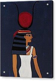 Hathor Acrylic Print by Diana Martinez