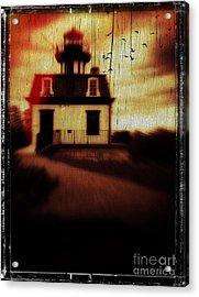 Haunted Lighthouse Acrylic Print by Edward Fielding