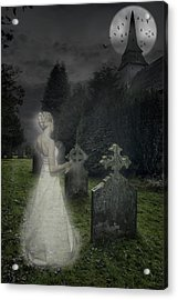 Haunting Acrylic Print by Amanda And Christopher Elwell