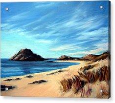 Havik Beach Acrylic Print by Janet King