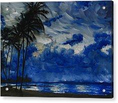 Hawaiian Sunrise Acrylic Print by Sherry Robinson