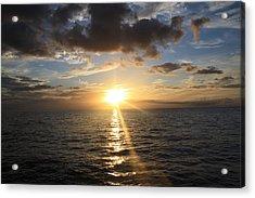 Hawaiian Sunset 2 Acrylic Print by Brandon Radford