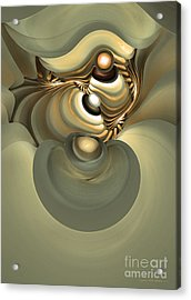 He Is Like His Father Acrylic Print by Sipo Liimatainen