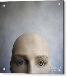 Head Of A Dummy. Acrylic Print by Bernard Jaubert