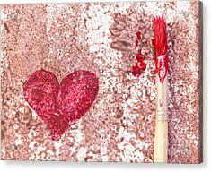 Heart  Acrylic Print by Igor Kislev