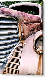Heavy Metal Acrylic Print by Susan Smith