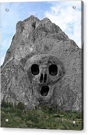 Heavy Rock Scream Acrylic Print by Eric Kempson