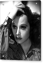 Hedy Lamarr, 1939, Photo By Clarence Acrylic Print by Everett