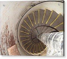Helical Stairway Acrylic Print by Sonali Gangane