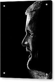 Henrik Sedin Acrylic Print by Kayleigh Semeniuk