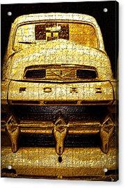 Henrys Ford Truck Acrylic Print by David Lee Thompson