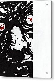 Here Is Zombie Acrylic Print by Steve Benton