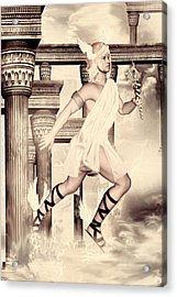 Hermes Acrylic Print by Lourry Legarde