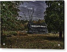 Hermit Life Acrylic Print by Ryan Crane