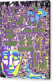Hieroglyphics Acrylic Print by Ben Leary